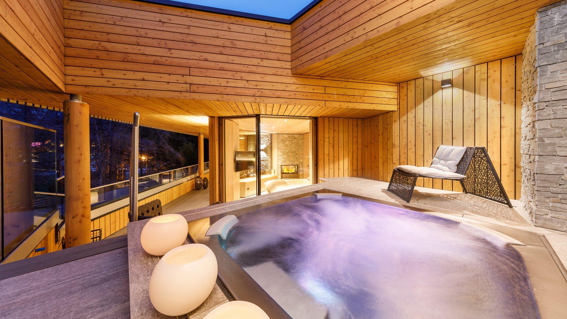 Zimmer im Designhotel in Tirol - Naturhotel Waldklause